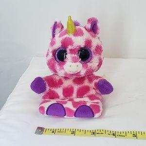 BOGO Ty beanie boo pink unicorn cellphone holder